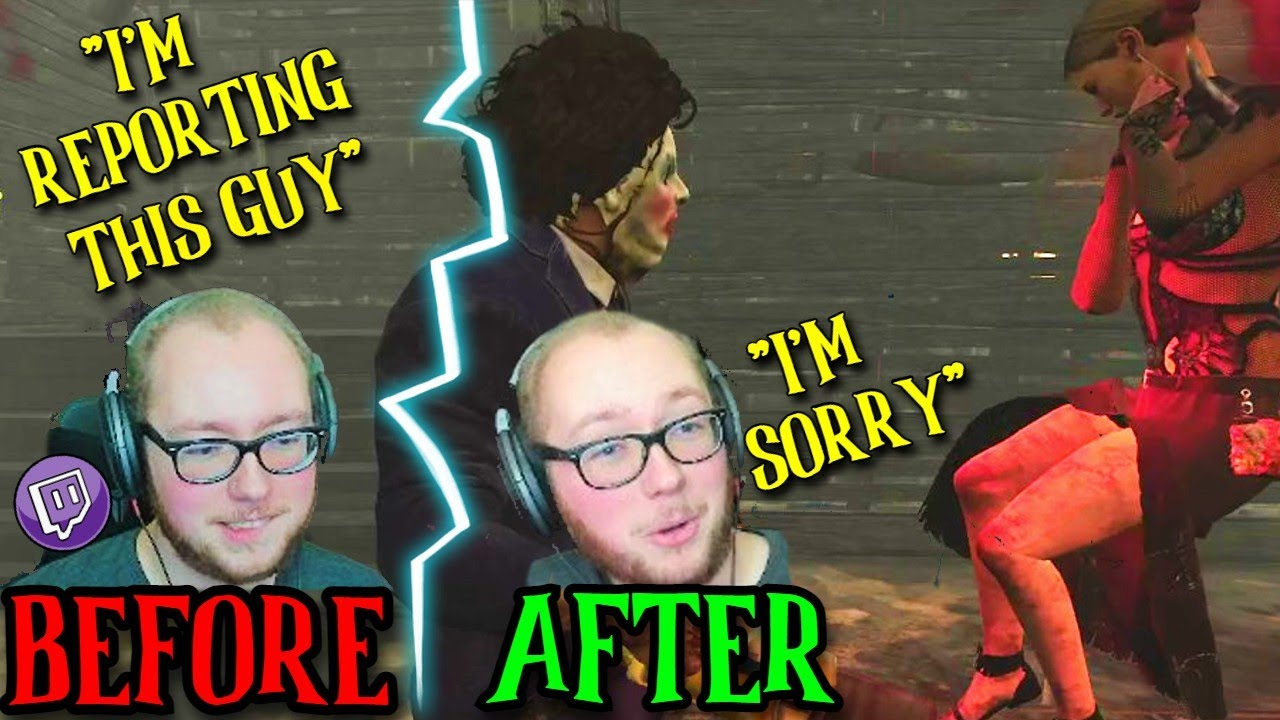 Salty Encounter With A Streamer Turns WHOLESOME! - Dead By Daylight