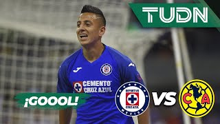 ¡Cruz Azul le da la vuelta! |  Cruz Azul 3 - 2 América | Liga Mx - AP 19 - J13 | TUDN