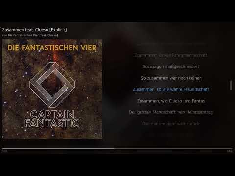 Die Fantastischen Vier - Zusammen feat. Clueso | Lyrics