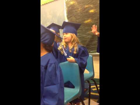 Evie's promotion song to Kindergarten