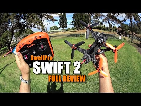 SWELLPRO SWIFT 2 RTF FPV Race Drone Review - [UnBox, Inspection, Flight/Crash Test, Pros & Cons]