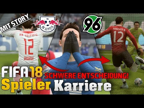 SKANDAL TRANSFER! LEIPZIG ODER H96??😱 Fifa 18 Spielerkarriere