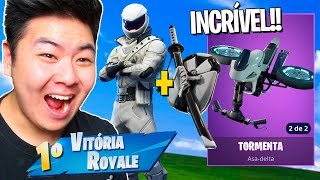 I BOUGHT THE NEW SKIN OF THE NINJA RIDER * AMAZING *!! -Fortnite Battle Royale