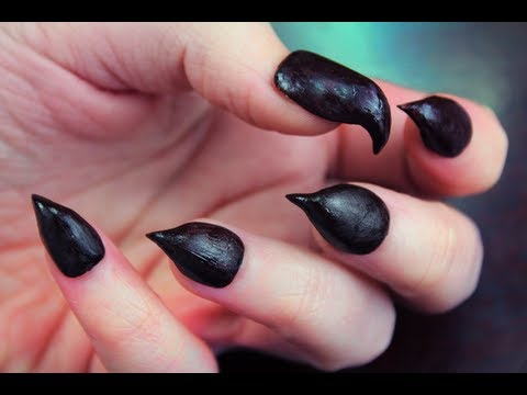 Diy Claw Nails Youtube