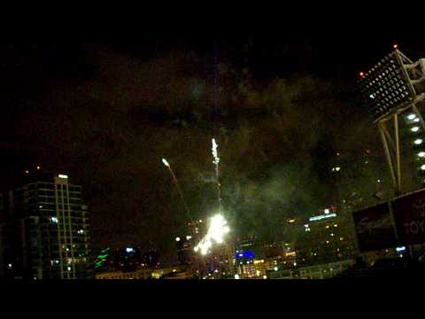Fireworks  at Padres