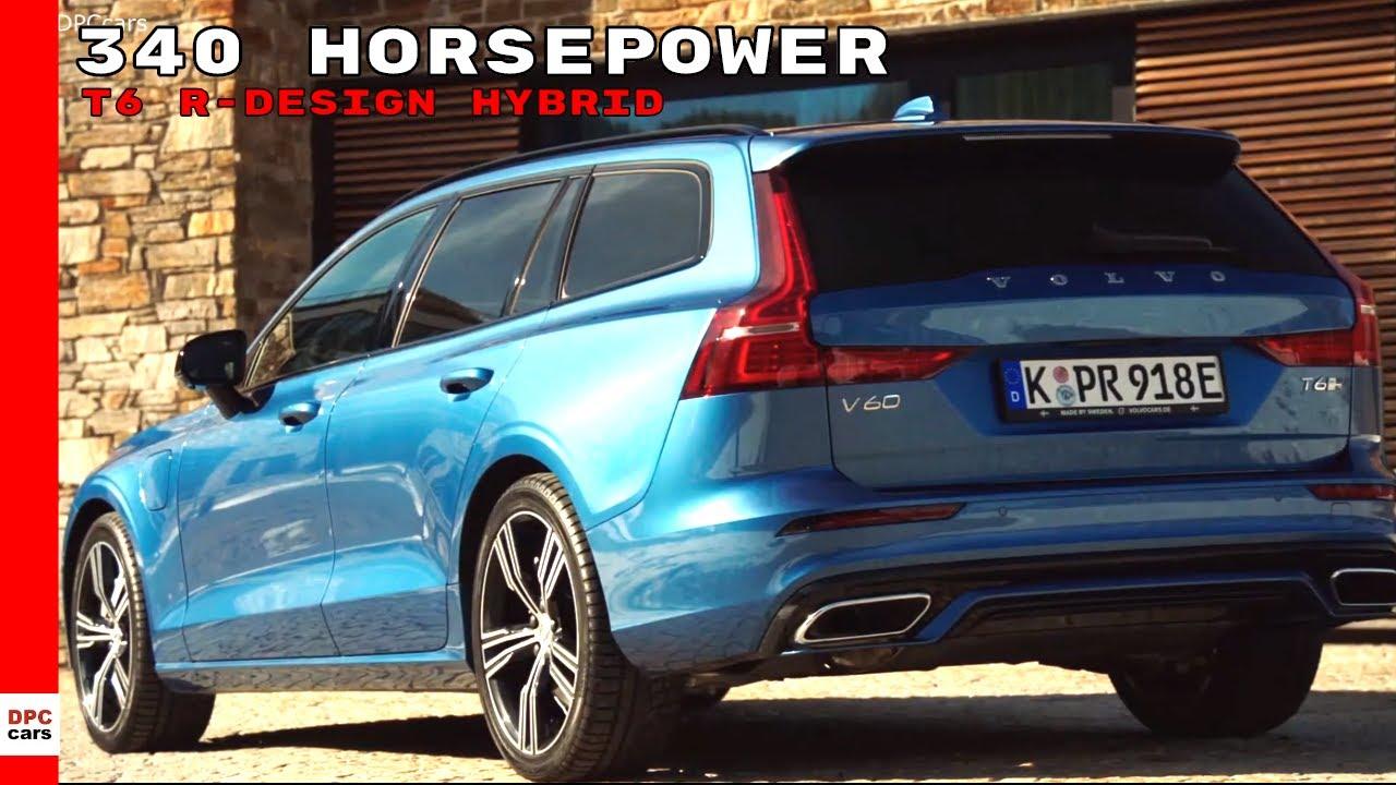 Volvo V60 T6 R Design Twin Engine Plug In Hybrid 2020 Youtube