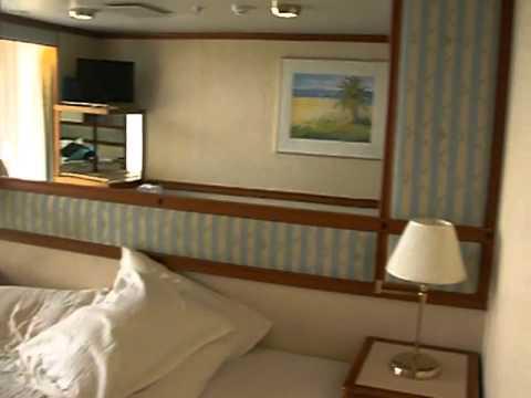 Star princess caribe deck room 206 balcony cabin youtube for Balcony translate