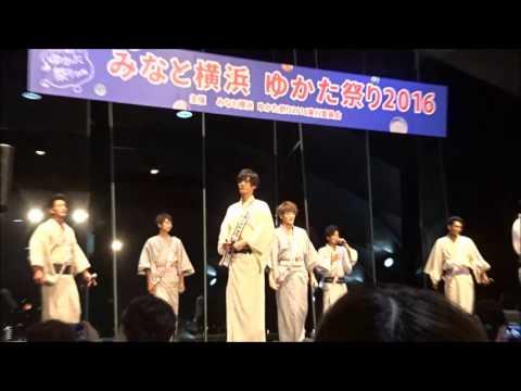 20160809  SOLIDEMO  Girlfriend   みなと横浜ゆかた祭り