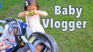 1 Year Old Vlogger! - July 26, 2014 - itsjudyslife daily vlog