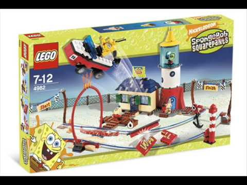 New LEGO Set 2007 - 2009 Spongebob