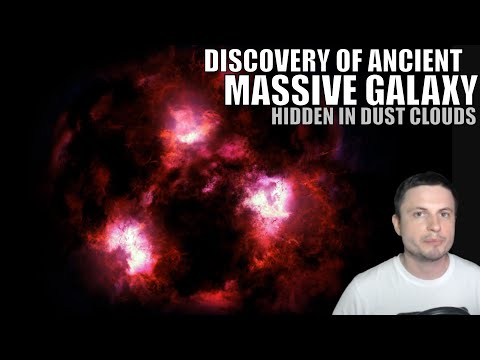 Monster Galaxy Discovered Lurking in Ancient Dust Clouds
