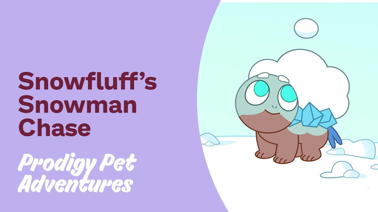 Prodigy Pet Adventures Snowfluff S Snowman Chase Youtube