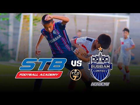 STB VS บุรีรัมย์ ยูไนเต็ด Academy/รอบแบ่งกลุ่ม C /FCB International Academy 7s U11/ไฮไลท์ฟุตบอล