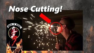 blockhead cutting torch and fire breathing