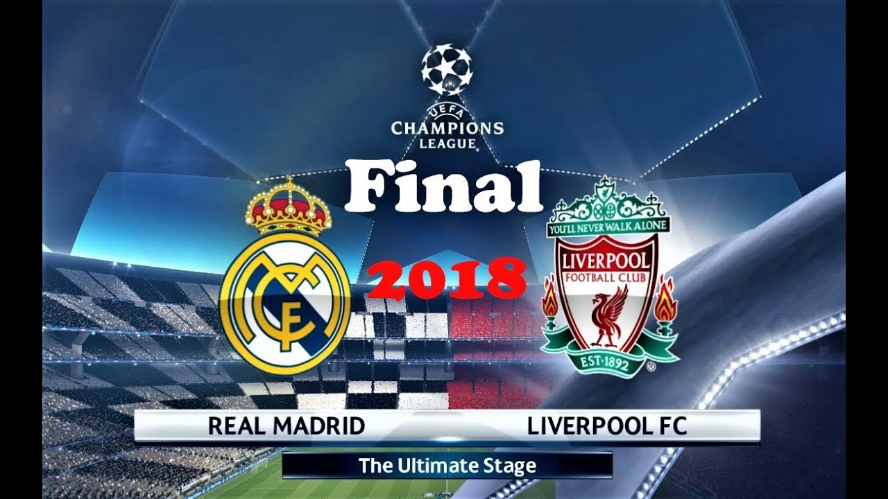 PES 2018   Final UEFA Champions League   Real Madrid vs Liverpool