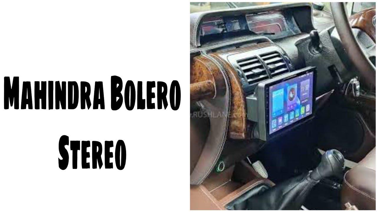 Mahindra Bolero Android Player   Bolero Modified   Mahindra Bolero