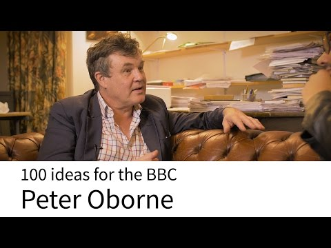 """Peter Oborne: """"The BBC stands for what we all have in common"""""""