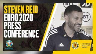 Steven Reid Press Conference   UEFA EURO 2020