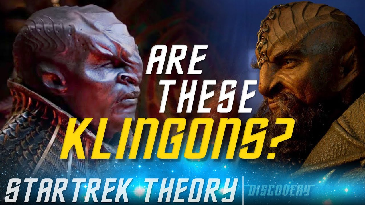 Explaining Discovery Klingons | Star Trek Theory