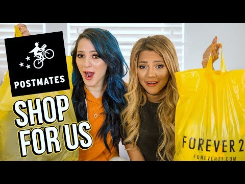 We Let Delivery Guys Buy our Outfits! Niki and Gabi