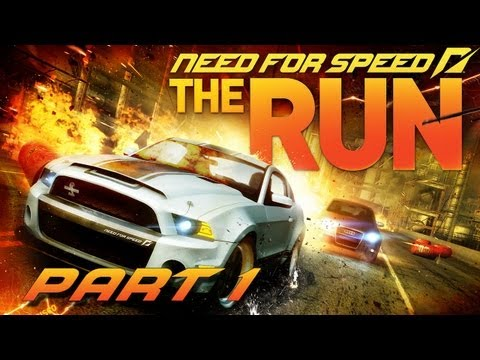 NEED FOR SPEED THE RUN Part 1 - Rennen um Leben und Tod (FullHD) / Lets Play Need for Speed The Run