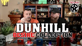 DUNHILL DESIRE RED EXTREME, DESIRE RED, DESIRE BLUE by Alfred Dunhill (FIRST IMPRESSIONS)