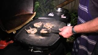 Char-grilled Marinated Quail - Two Fat Brothers