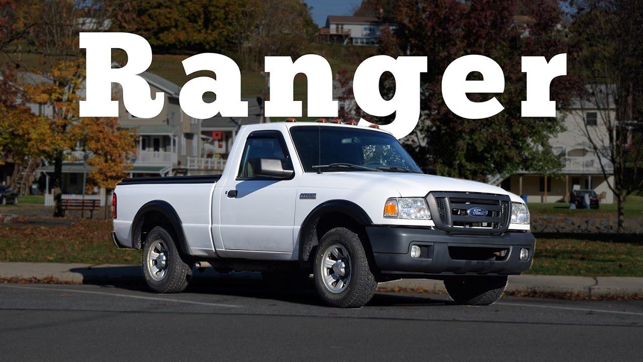 2007 ford ranger v6 regular car reviews youtube