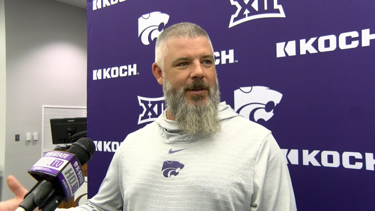 Kansas State Football Coaches Talk About Stopping Oklahoma State Qb Spencer Sanders