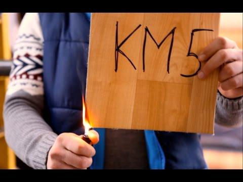 Противопожарный линолеум. Сертификат КМ 2. Эксперимент с огнем.