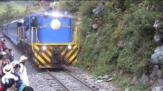 LE TRAIN du MACHU PICCHU (Pérou) Visit of the Machu Picchu and train