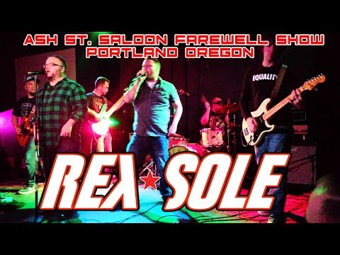 Rex Sole -The Ash Street Saloon Farewell Show Portland, OR 10-20-17