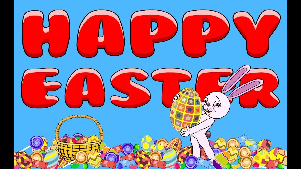 Happy Easter (animation) - YouTube