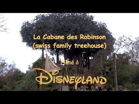 Disneyland Paris - Attraction La Cabane des Robinson - Swiss Family Treehouse HD
