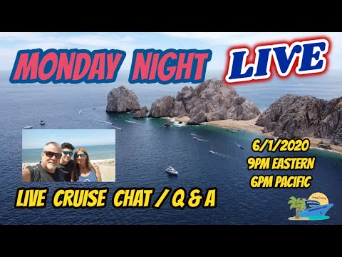 MONDAY NIGHT LIVE | SHARON AT SEA TRAVEL CRUISE CHAT AND Q & A