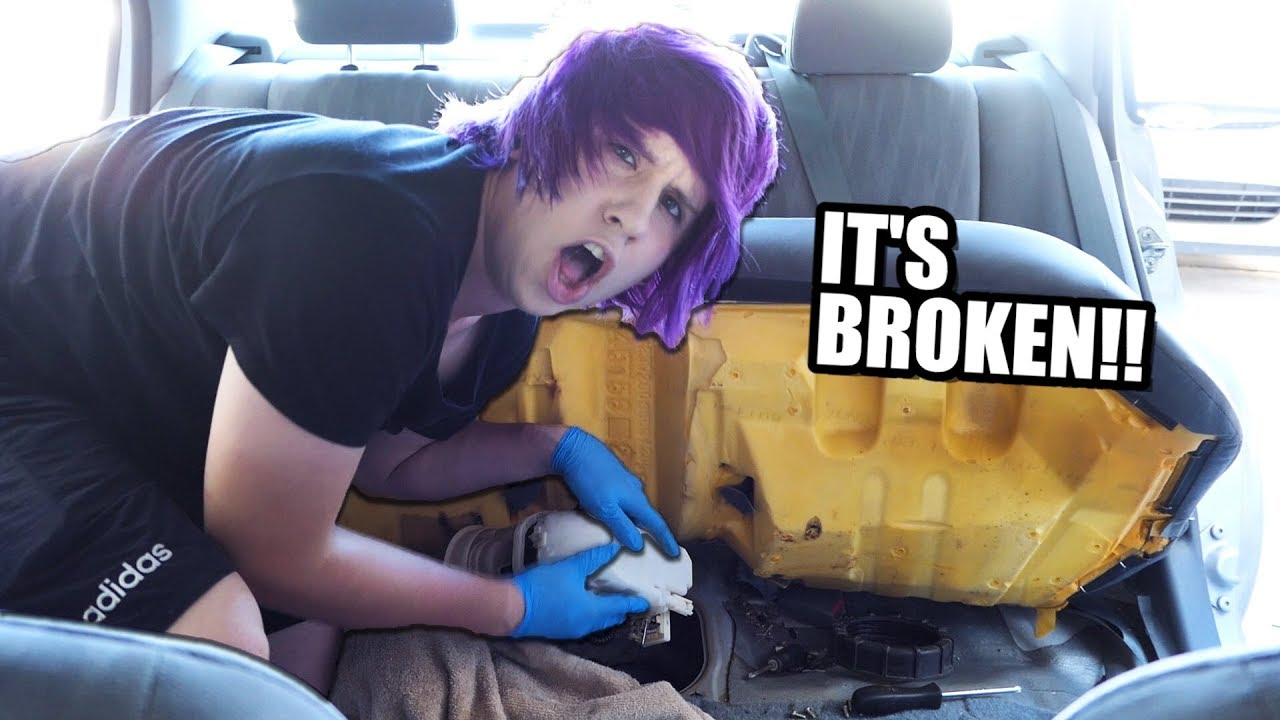 DIY How to Repair Your Broken Car!! Fuel Pump Fix