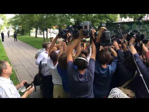 Donald Tusk w Prokuraturze Krajowej, 03.08.2017