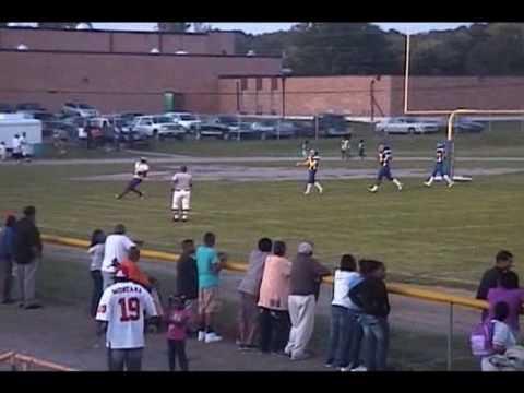 Thurgood Marshall H.S. Football Tavion Wright #5 Highlight Video 09 Season