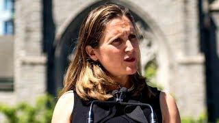 Chrystia Freeland defends Canada's stance on Saudi Arabia amid sanctions