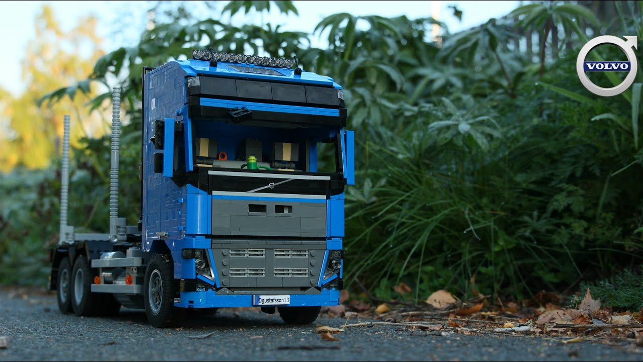 lego technic rc volvo fh16 2nd generation youtube. Black Bedroom Furniture Sets. Home Design Ideas