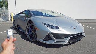 2020 Lamborghini Huracan Evo: Start Up, Exhaust, Walkaround and Review