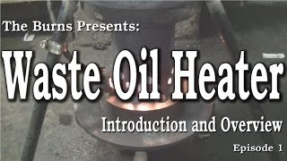 My Drip Feed Waste Oil Heater Introduction