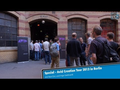 AVID Creation Tour 2013 in Berlin