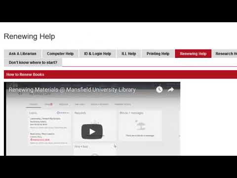 Library Guide for Online Students @ North Hall Library