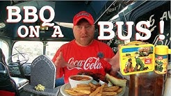 Georgia ~ 60's Lunch Boxes, Gravesites, & BBQ On A Bus