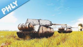 PANZER VIII MAUS - Simulator Battle (War Thunder Maus Tank Gameplay)