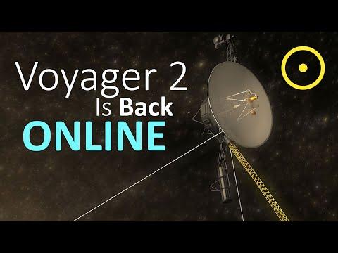 Voyager 2 Is Back Online