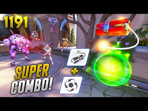 The *NEW* MOST SKILLED COMBO?! | Overwatch Daily Moments Ep.1191 (Funny and Random Moments)