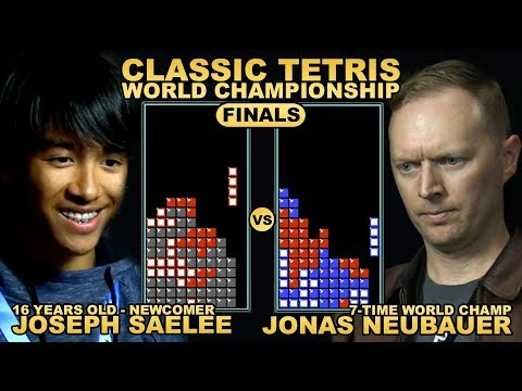 The Man Cave - 16 yr old Underdog vs. 7-Time Champ - Classic Tetris World Championship