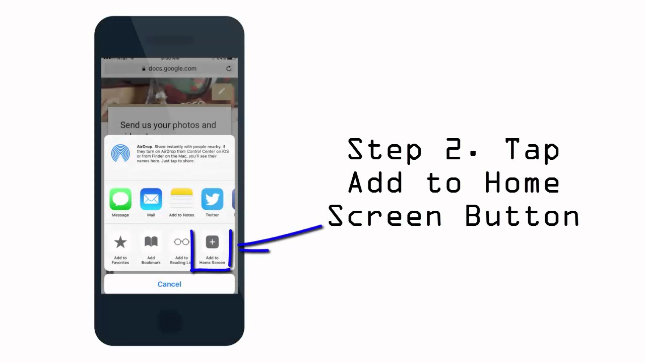 Image result for how to add home screen app iphone
